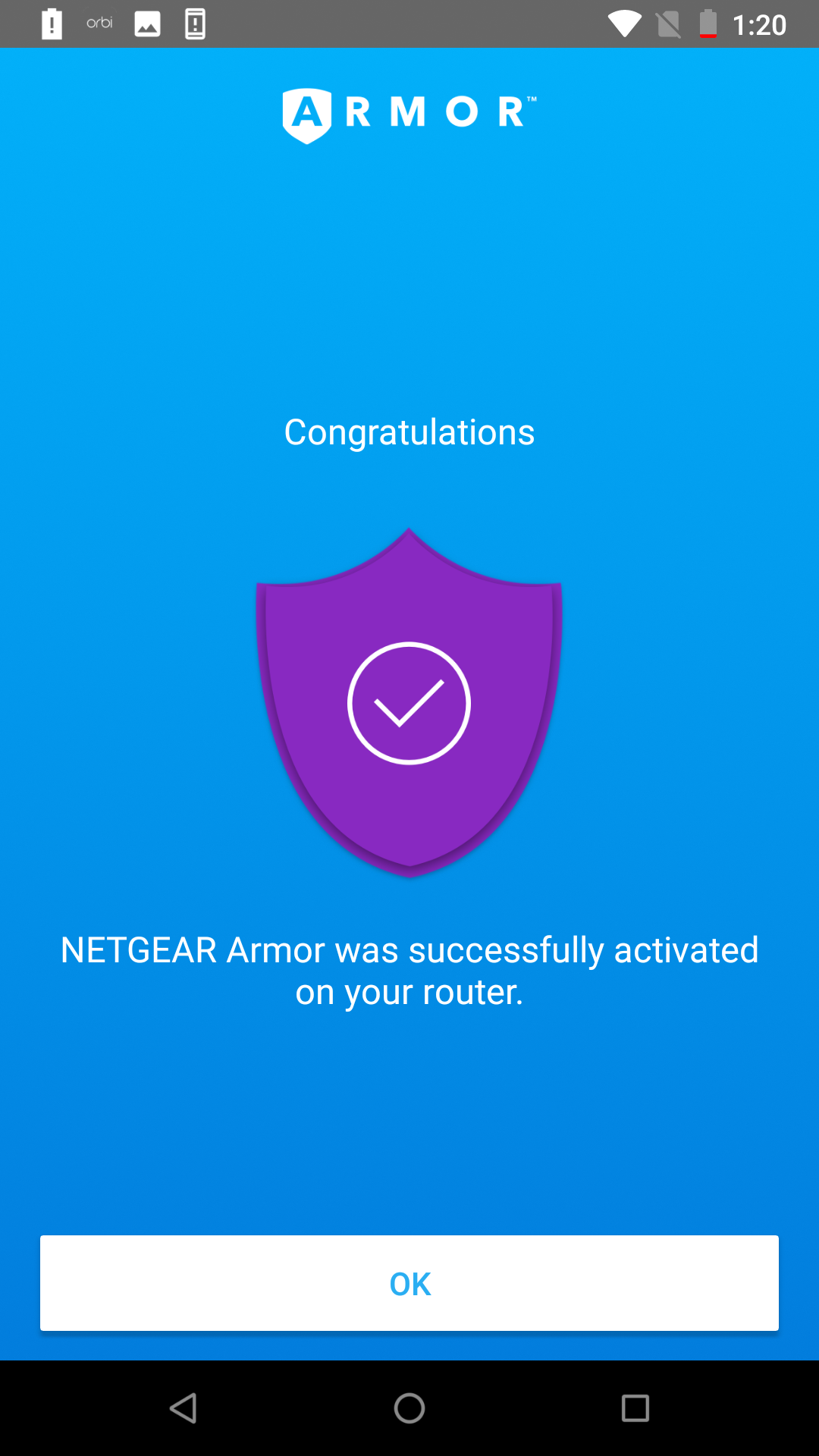 How to activate NETGEAR Armor protection on your Orbi router