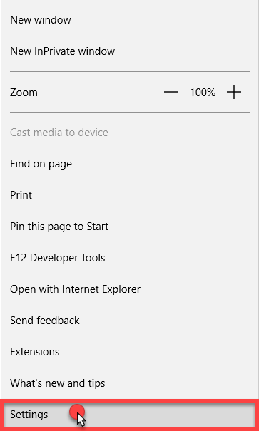 How to clear the cache and cookies in Microsoft Edge