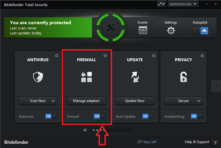 How to create a Firewall zone in Bitdefender 2014