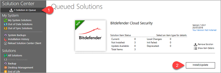 Migrating from Bitdefender Security for Labtech to