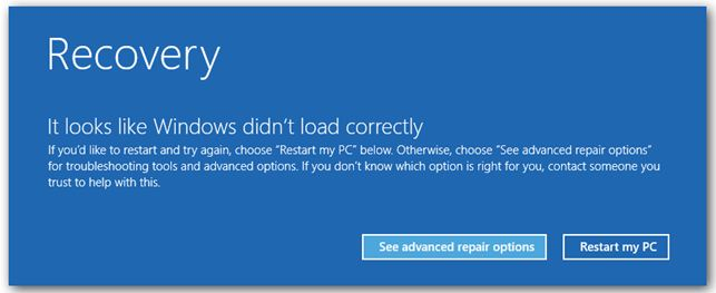 What to do when system crashes after installing Bitdefender on Windows 8