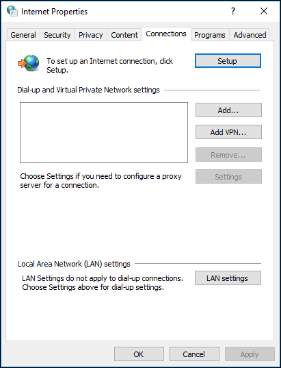How to remove proxy settings in your browser