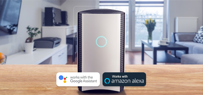 It's here, and you'll love it: New feature of Bitdefender BOX allows you to 'talk' to it through  Google Assistant and Amazon Alexa