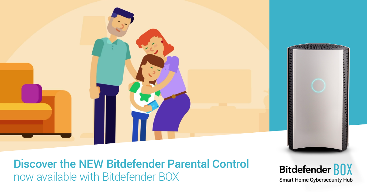 Bitdefender BOX adds new parental control feature that detects online predators and cyberbullying