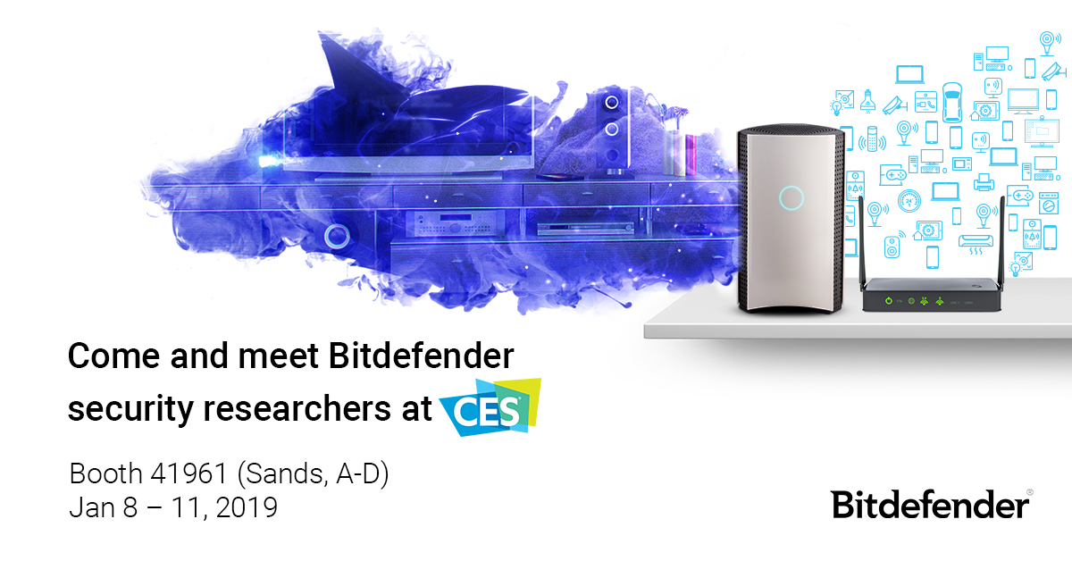 Bitdefender will bring the latest and greatest in cybersecurity to CES 2019